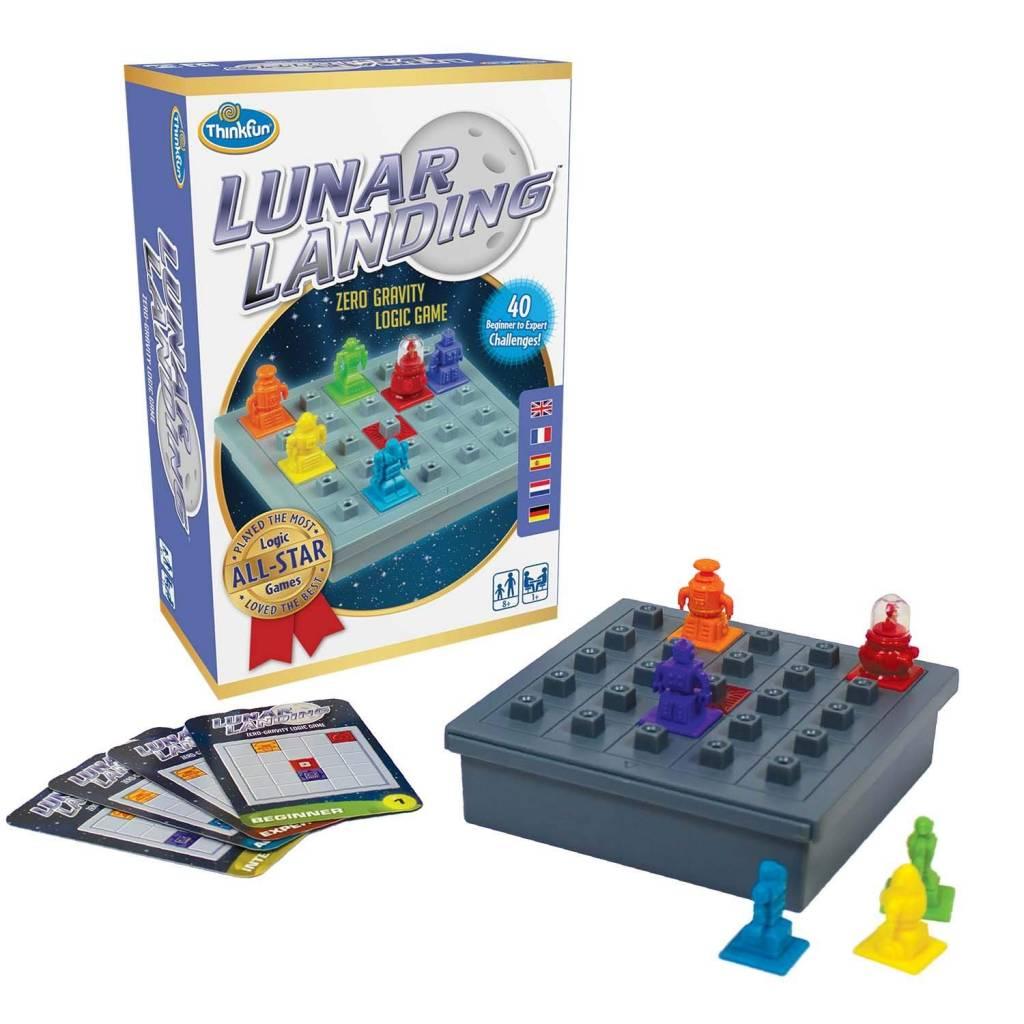 Lunar landing logic game