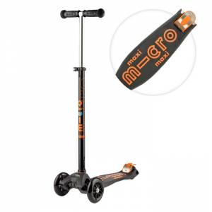 Maxi deluxe scooter black
