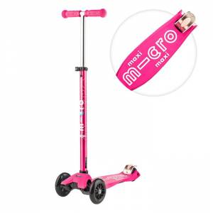 Maxi deluxe scooter pink