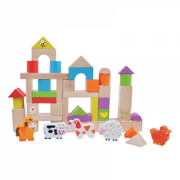 Building farm blocks