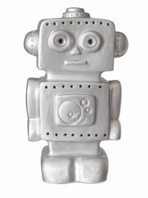Silver Robot Night Light