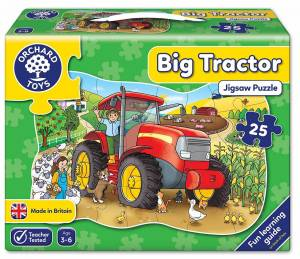 Big Tractor Jigsaw Puzzle