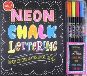 Neon Chalk Lettering