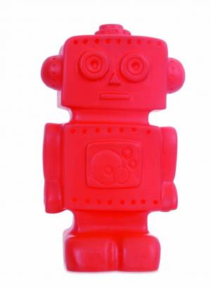 Red Robot Night Light