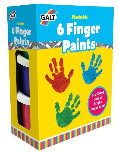 6 Finger Paints Galt Toys