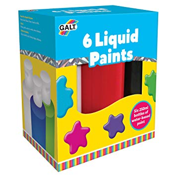 6 Liquid Paints Galt Toys