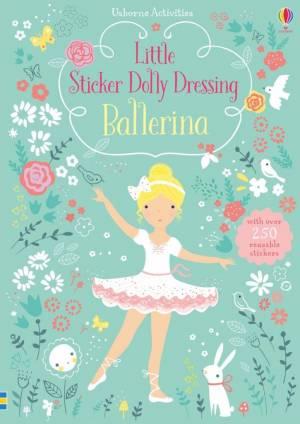 Ballerina Little Sticker Dolly Dressing
