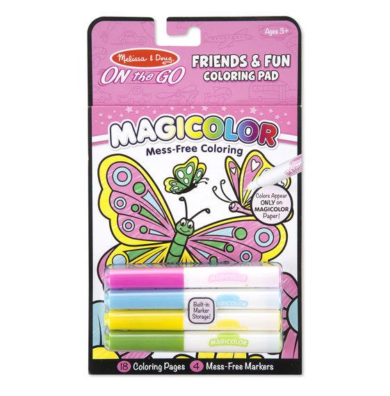 Magicolor - On the Go - Friends & Fun Colouring Pad