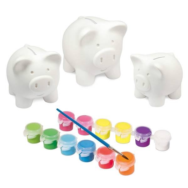 Paint a Piggy Bank Set Galt Toys