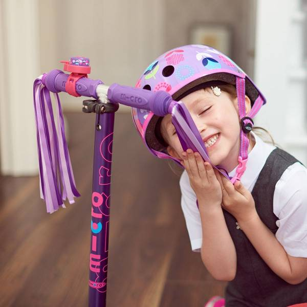 Purple Micro Scooter Ribbon