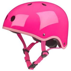 Neon Pink Children's Helmet