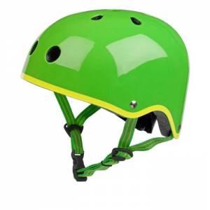 Glossy Green Children's Helmet
