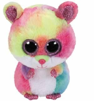 "Ty Beanie Boo Rodney Hamster 6"""