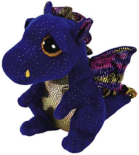 """Ty Beanie Boo Saffire The Blue Dragon 6"""""""