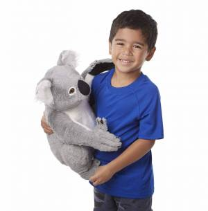 Melissa & Doug Lifelike Plush Koala Stuffed Animal
