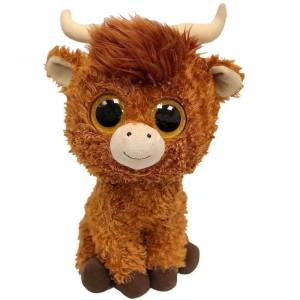 Ty Beanie Boo Angus The Highland Cow 12""
