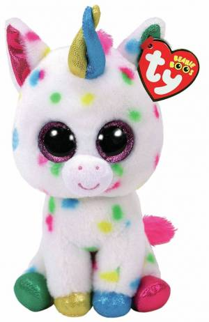 Ty Beanie Boo Harmonie The Unicorn 6""