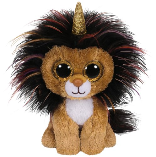 """Ty Beanie Boo Ramsey The Lion 6"""""""