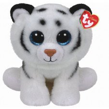 "Ty Beanie Boo Tundra The White Tiger 6"""