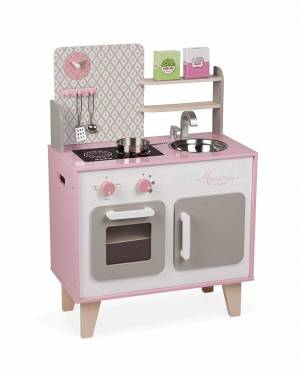 Janod Kids wood kitchen Macaron