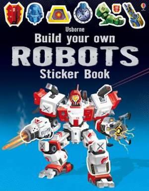 Usborne Build Your Own Robot Sticker Book