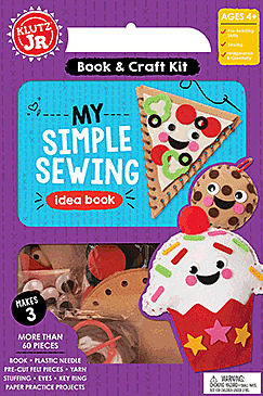 My Simple Sewing Idea Book. Children's Activities. Toy Shop