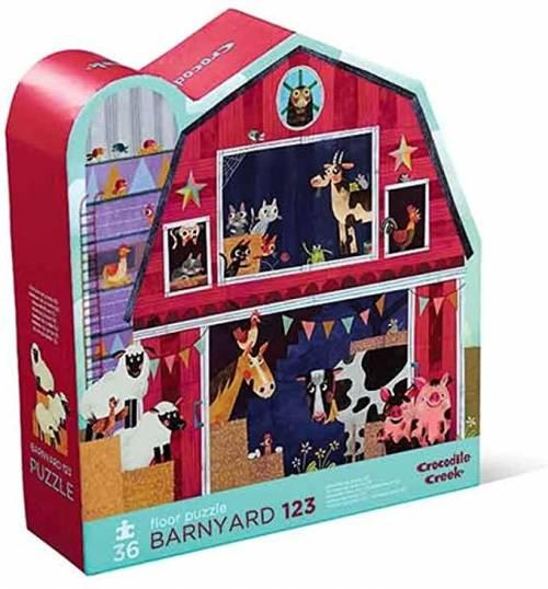 Barnyard Floor Puzzle. 36 Piece Jigsaw