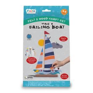 sailing boat craft set