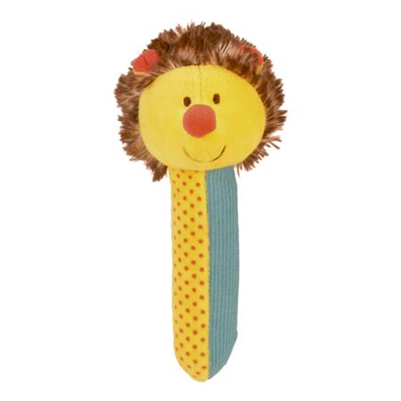 Hedgehog Squeakaboo Rattle Toy