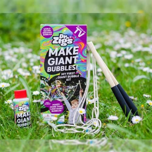 Dr Zigs. Make Giant Bubbles Set. Children's Activities. The Toy Shop Malahide.