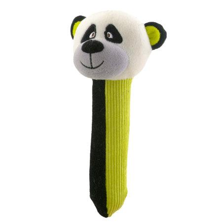 Panda Squeakaboo Rattle Toy