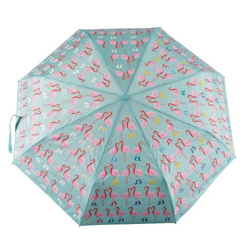 Flamingo Children's Umbrella. Colour Changing