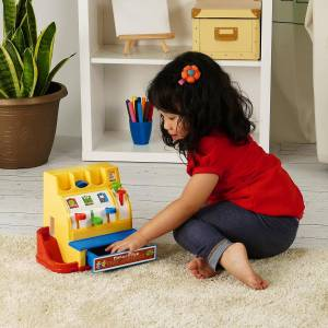 Fisher Price Children's Cash Register. The Toy Shop Online
