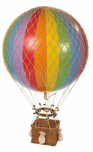 Small Rainbow hot air balloon