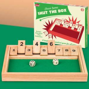 Classic Games. Shlit The Box. Family Board Games.