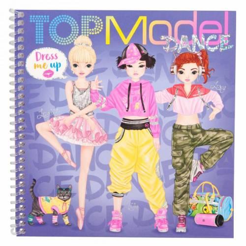 Dress Me Up Dance Sticker Book