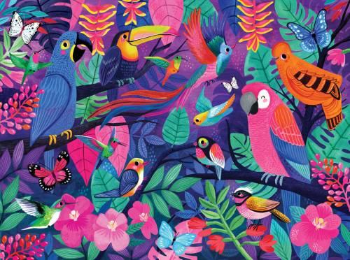 Birds of Paradise Puzzle. Jigsaw 500 Piece