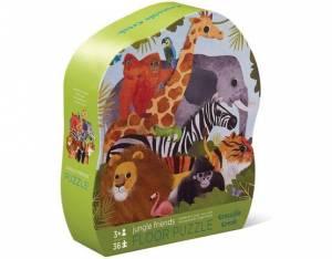 Jungle Friends 36 Piece floor puzzle. Children's activities. Order online.