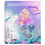 Fantasy Model Colouring Book