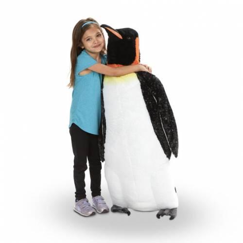 Lifelike Emperor Penguin Toy.