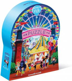 Day the Fair Jigsaw Puzzle. Children's Toys