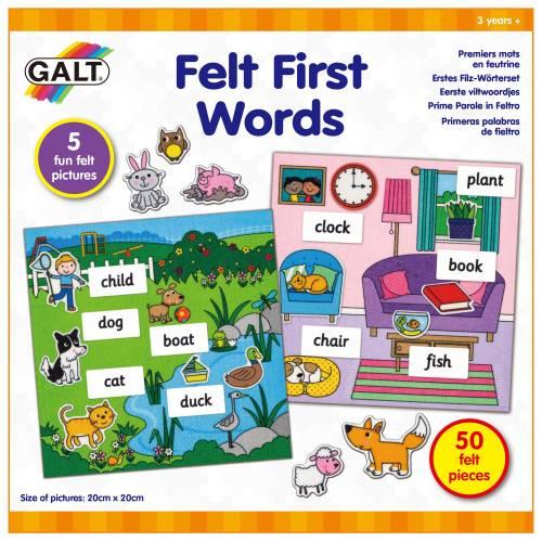 felt first words