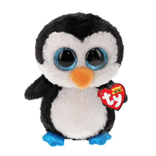 TY Beanie Boo Waddles the Penguin