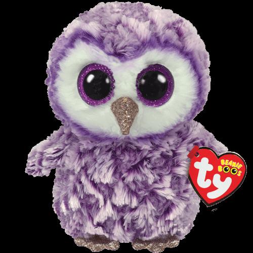 TY Beanie Boo Moonlight the Owl
