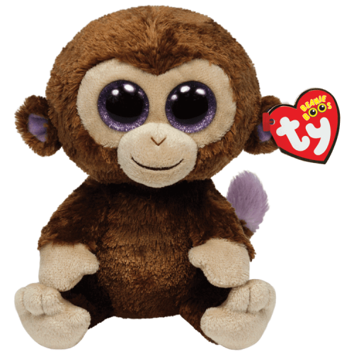 Beanie Boo Coconut the Monkey. The Toy Shop Malahide