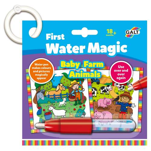 Water magic baby farm animals