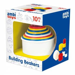 Building Beakers Toy for Toddler. Ambi Toys
